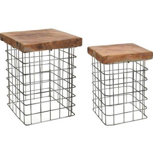 D2.design Zestaw stołków rize square (5902385732390)