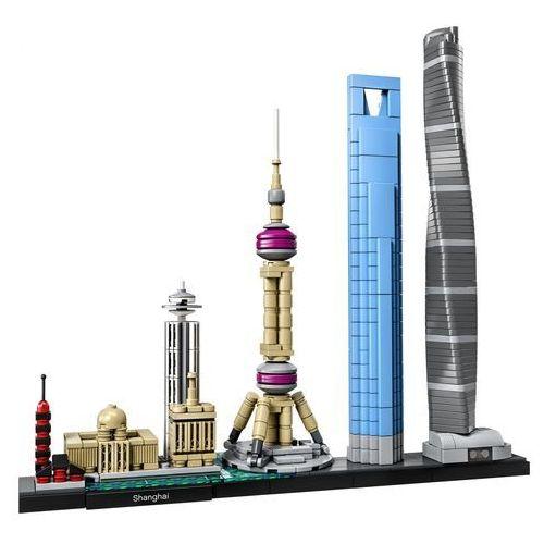 Lego ARCHITECTURE Szanghaj shanghai 21039 - BEZPŁATNY ODBIÓR: WROCŁAW!
