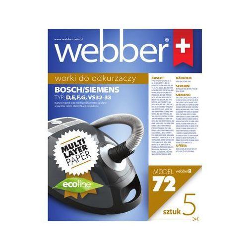 Webber Worek do odkurzacza 72 (5 sztuk)