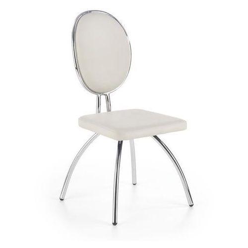 Krzesło k298 jasny popiel / grafitowy marki Halmar