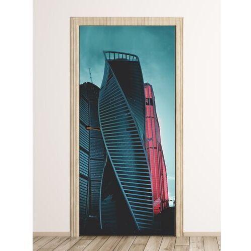 Wally - piękno dekoracji Fototapeta na drzwi nowoczesna architektura moskwy fp 6292