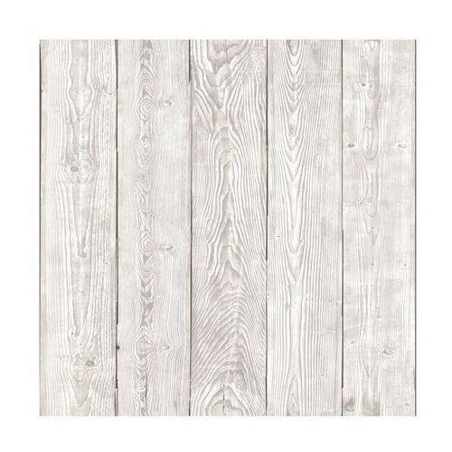 Okleina SHABBY WOOD biało-szara 45 x 200 imitująca drewno