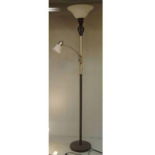 Trio 6102 lampa stojąca rudy, 2-punktowe - dworek/antyk/śródziemnomorski - obszar wewnętrzny - rustica - czas dostawy: od 3-6 dni roboczych