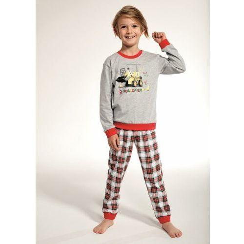 Cornette Kids Boy 593/88 Bulldozer 86-128 piżama chłopięca