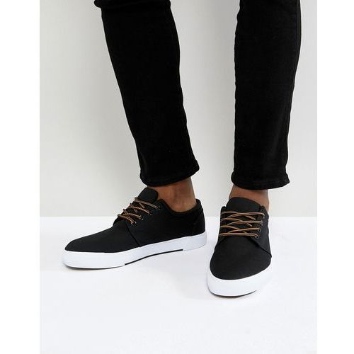 Pier One Plimsolls In Black - Black, kolor czarny