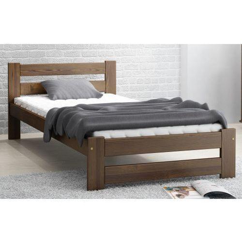 łóżko Drewniane Kada 90x200 Eko Orzech Marki Meble Magnat