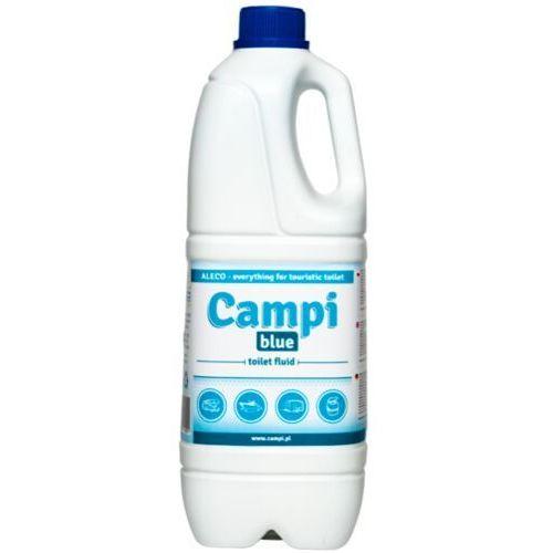 Aleco Campi blue 2 l płyn do toalety turystycznej, przenośnej płyn do toalety toi toi, preparat do przenośnej kabiny wc