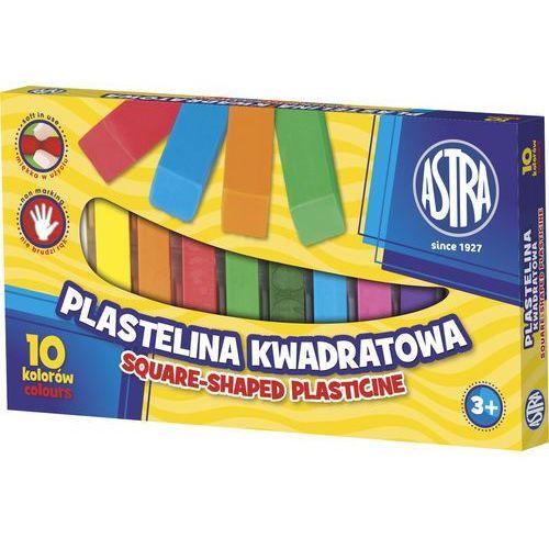 Plastelina 10 kolorów kwadratowa (5901137087498)