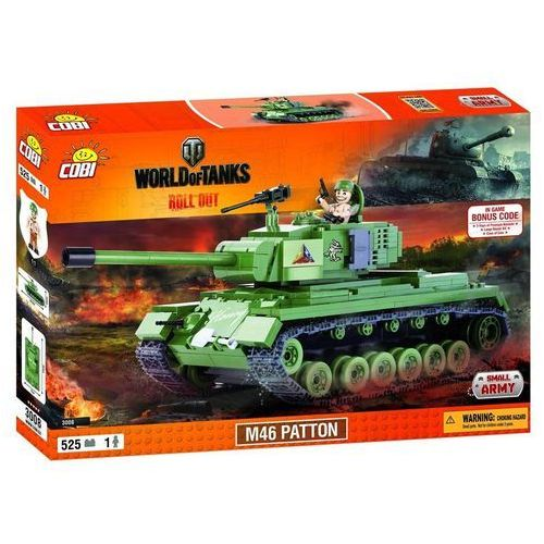 Cobi SMALL ARMY M46 Patton World of Tanks 3008