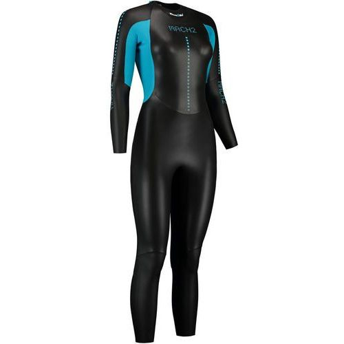 Dare2tri mach2scs kobiety niebieski/czarny fs 2018 pianki do pływania