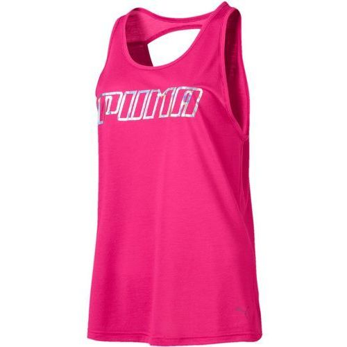 Puma bokserka damska Own Ittank Fuchsia Purple Wording S (4060978717344)