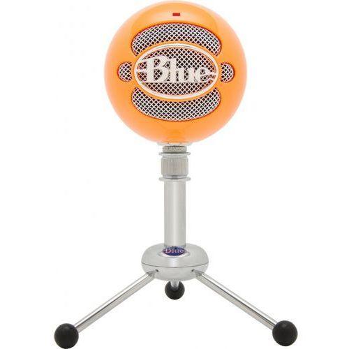 Blue microphones snowball bo mikrofon pojemnościowy usb (bright orange)