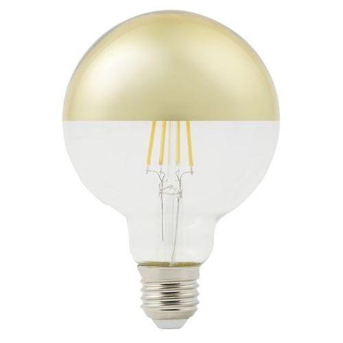 Żarówka lustrzana LED Diall G95 E27 5 W 470 lm przezroczysta barwa ciepła złota