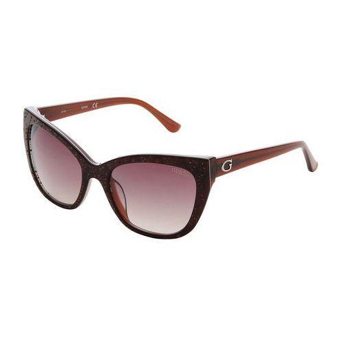 Okulary przeciwsłoneczne damskie GUESS - GU7438-92