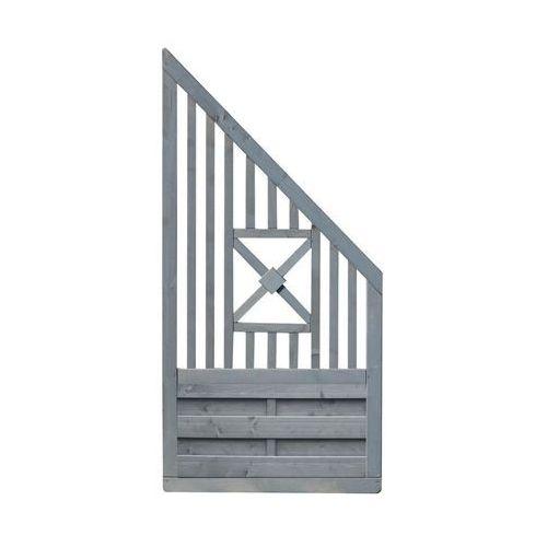 Werth-holz Płot skośny 90x180 cm drewniany parma (5902860161271)