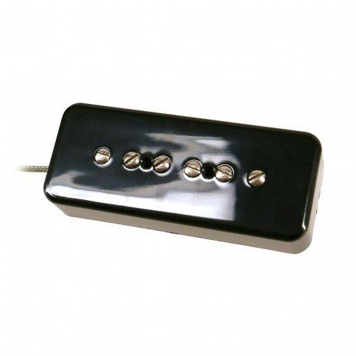 Nordstrand NP9.0 P90 Style Pickup, Soapbar Shape, Black Cover - Neck przetwornik do gitary