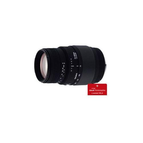 Sigma obiektyw AF 70-300/4-5.6 DG MACRO Canon