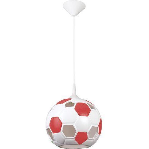 Lampa wisząca Piłka Czerwona 102/PCE - Lampex - Sprawdź kupon rabatowy w koszyku, LAM102/PCE