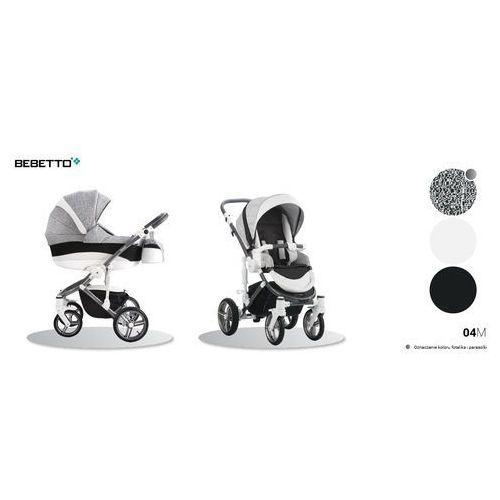 Wózek głęboko spacerowy firmy  model murano (2w1) wysyłka.24h marki Bebetto