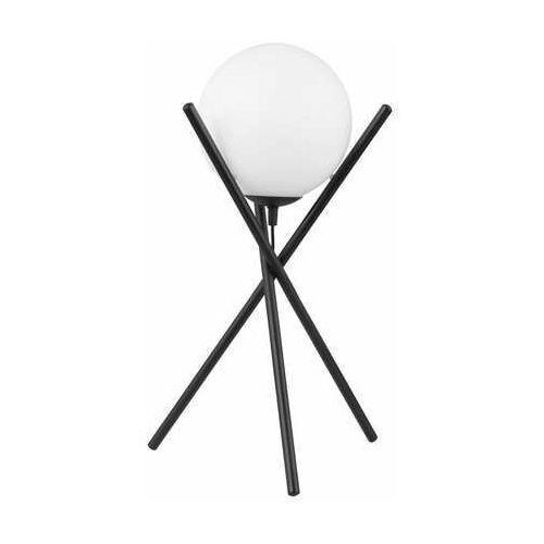 Eglo salvezinas 39593 lampa stołowa lampka 1x25w e14 czarna/biała (9002759395933)