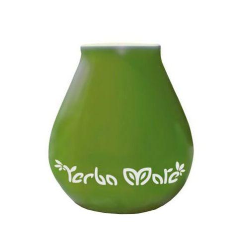 350ml luka green matero ceramiczne zielone marki Yerba mate
