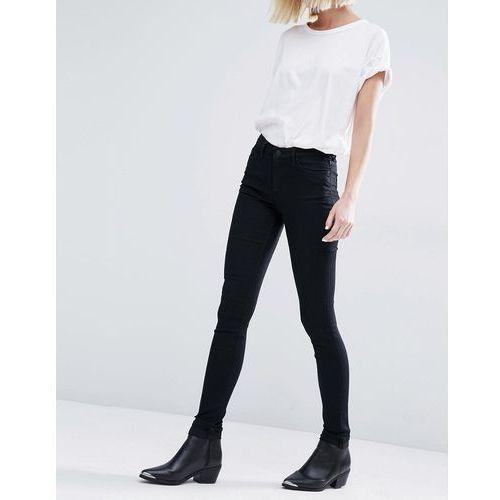 body super stretch skinny jeans - cream, Weekday