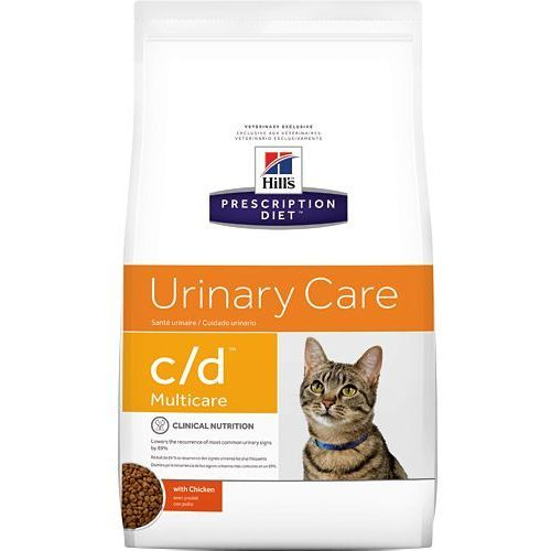 HILL'S PD Prescription Diet Feline c/d Multicare Kurczak 400g - 400