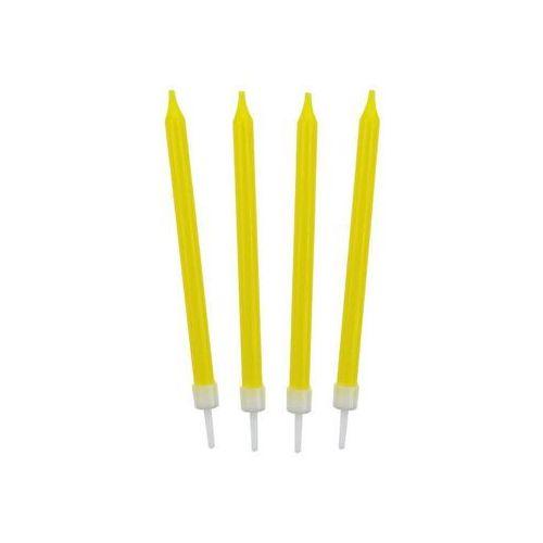 Godan Świeczki urodzinowe żółte - 10 szt. (5901238683070)