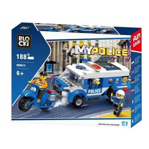KLOCKI BLOCKI POLICJA POŚCIG 188