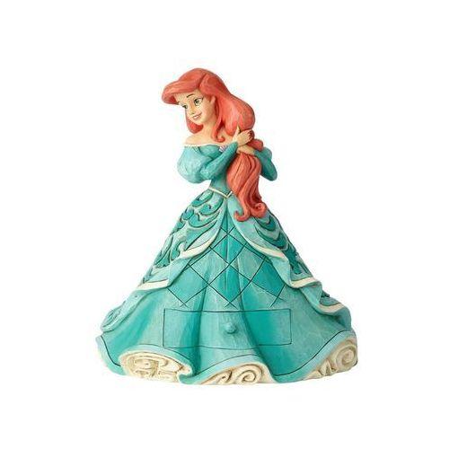 Królewna arielka bajki disneya mała syrenka ariel ariel treasure keeper figurine a29505 figurka dekoracja pokój dziecięcy marki Jim shore