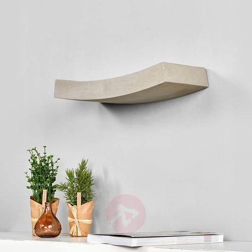 Lampenwelt.com Piękna lampa oświetlająca ścianę karolina z betonu (4251096524406)
