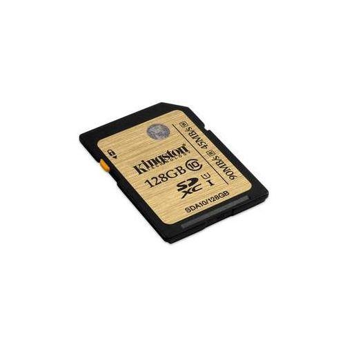 Kingston Karta pamięci sdxc 128gb class 10 uhs-1 u1 (sda10/128gb)