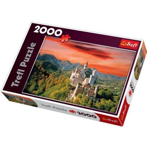 Trefl Puzzle nowy łabędzi kamień 2000 elementów