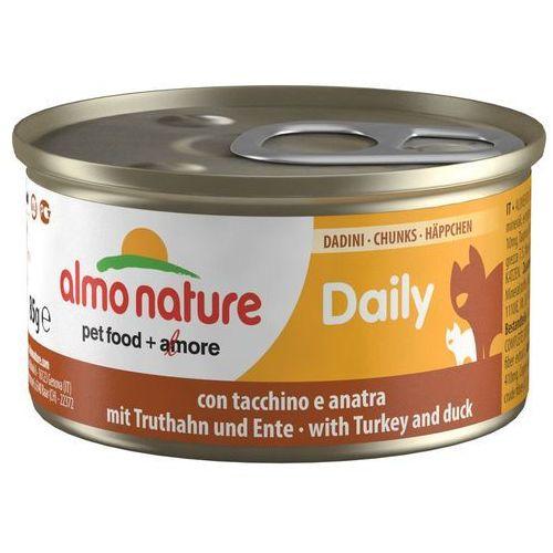 daily menu kawałki wołowiny - puszka 24x85g marki Almo nature