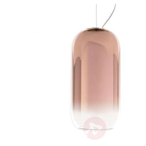 Gople mini-lampa wisząca z dmuchanego szkła Ø14.5cm marki Artemide