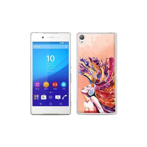etuo Fantastic Case - Sony Xperia Z3+ - etui na telefon Fantastic Case - colourful girl