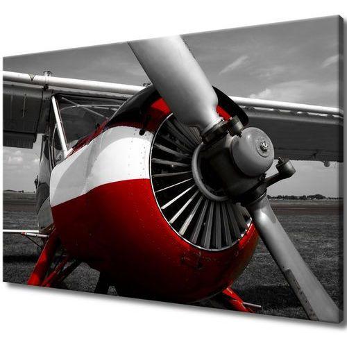 Obraz Tryptyk Śmigło samolotu śmigła samolotowe śm