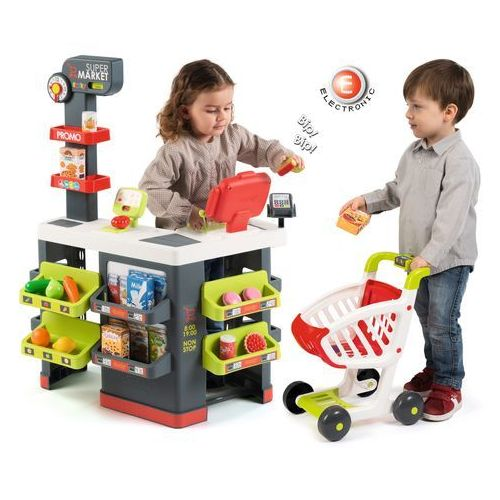Smoby Supermarket z wózkiem - darmowa dostawa!!! (3032163502135)
