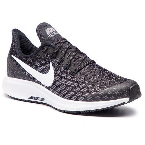 Nike Buty - air zoom pegasus 35 (gs) ah3482 001 black/white/gunsmoke/oil/grey