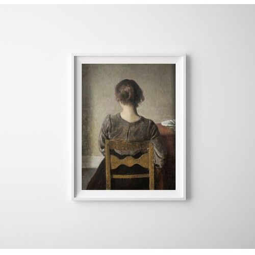 Plakat retro do salonu Plakat retro do salonu Wilhelm Hammershoi Rest