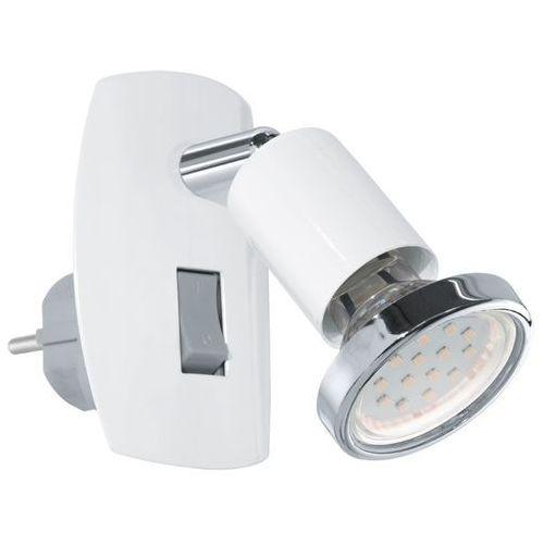 Lampka Eglo Mini 4 92925 1x3W GU10-LED biała / chrom