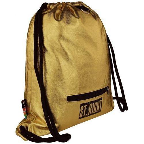 Plecak na sznurkach so-11 gold marki St.-majewski