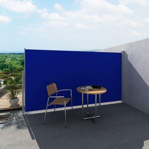 Vidaxl  markiza boczna 160 x 300 cm niebieska