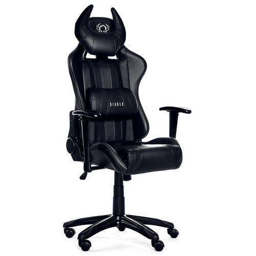 Fotel chairs x-one horn czarny + zamów z dostawą jutro! marki Diablo