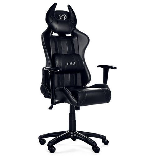Fotel DIABLO X-One Horn Czarny + Zamów z DOSTAWĄ JUTRO! + DARMOWY TRANSPORT! (5902560334234)