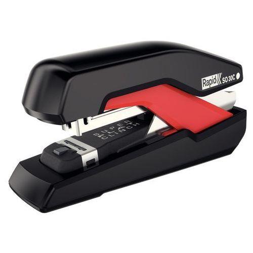 Zszywacz supreme omnipress so30c 50-50 czarno-czerwony marki Rapid