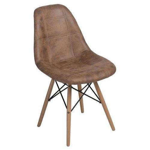 Dkwadrat Krzesło p016w pico brązowe (5902385722872)