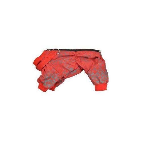 CHABA Kombinezon ocieplany z obrożą kolor: czerwony A wymiary 29 x 46cm rozmiar 4