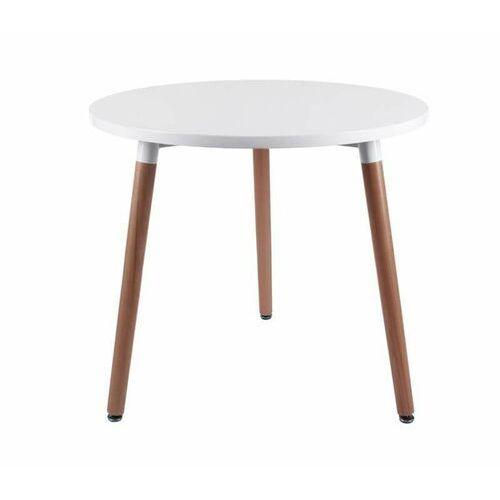 Stół Copine blat biały 80 cm D2.DESIGN (5902385711005)