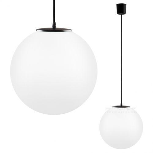 Sotto luce Lampa wisząca tsuki elementary l1/s/opal matte szklana oprawa kula zwis biała matowa